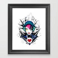 -War in my Heart- Framed Art Print
