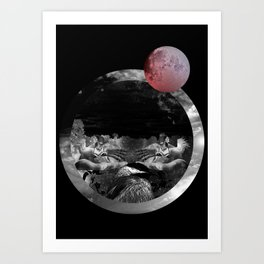 Echo the sun Art Print