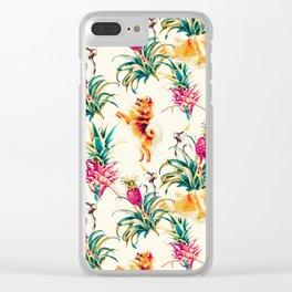 Summer dream 02 Clear iPhone Case