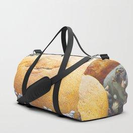 Natures Art Smiling Boulder Duffle Bag