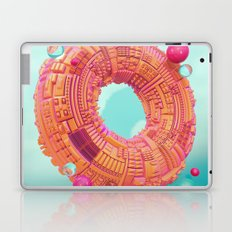 Space Donut City // 3D ABSTRACT Laptop & iPad Skin