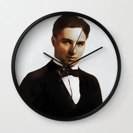 Hollywood Legends, Charlie Chaplin Wall Clock