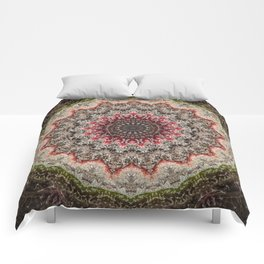 Trichome Crystal Portal Comforters
