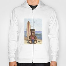 Surfer Bear Hoody