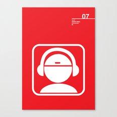 07_iconobmx_Z Canvas Print