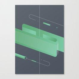 Geometric composition 3 Canvas Print