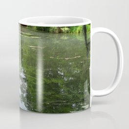 Magnolia Red Garden Bridge Coffee Mug