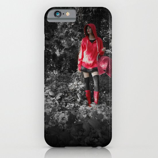 red riding hoodie iPhone & iPod Case