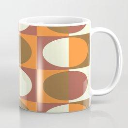 Retro MidCentury Oval pattern 1 Coffee Mug