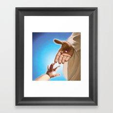 Be a Light Framed Art Print