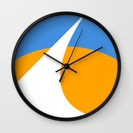 Redding City Flag Wall Clock