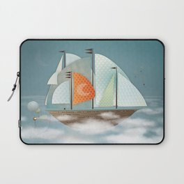 Sailing on clouds Laptop Sleeve