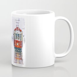 Istanbul Nostalgic Tramway Coffee Mug