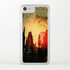 Sundowner Clear iPhone Case