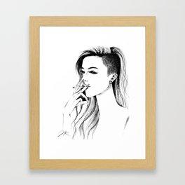 Bad Bee Framed Art Print