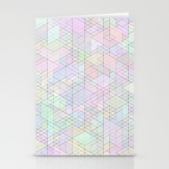 Panelscape - #9 society6 custom generation Stationery Cards