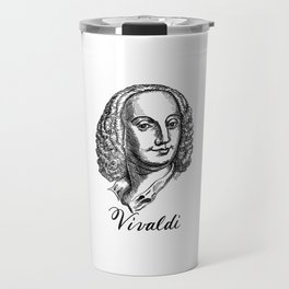 Antonio Vivaldi portrait Travel Mug