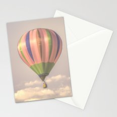 Magical pink balloon Stationery Cards