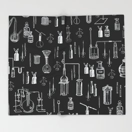 Mad Science Throw Blanket