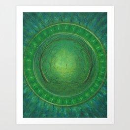 Continuum Art Print