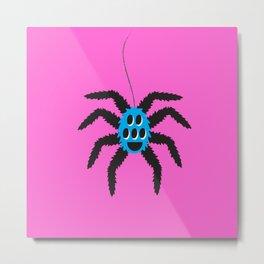 Itsy Bitsy Spider Pauline Metal Print