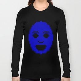 Pixel Face Long Sleeve T-shirt