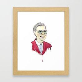 MR. Rogers Framed Art Print