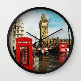 London, England Wall Clock