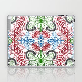 Funny bugs going for a beautiful choreography pattern design Laptop & iPad Skin