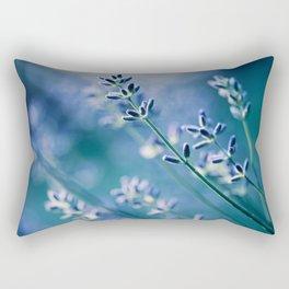 Lavender Blue Rectangular Pillow