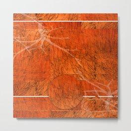 Orange mood Metal Print