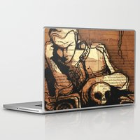 hamlet Laptop & iPad Skins featuring Hamlet Prince of Denmark by Immortal Longings