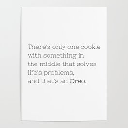 Oreo solves life's problems - TV Show Collection Poster