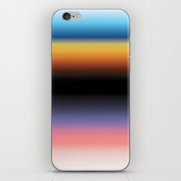 The Skys Colour iPhone Skin