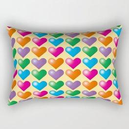 Hearts_B03 Rectangular Pillow