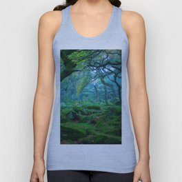 Forest #woods Unisex Tank Top