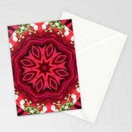 Rose Mandala - The Mandala Collection Stationery Cards