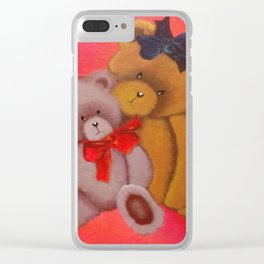 It's Snuggle Time Clear iPhone Case