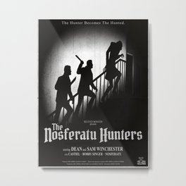 The Nosferatu Hunters Metal Print