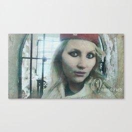 "VAMPLIFIED ""Asylum Nurse"" Canvas Print"