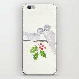 Turtle Dove Love iPhone Skin