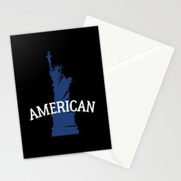 4th of July 2nd Amendment USA Freedom Expat Gift Stationery Cards