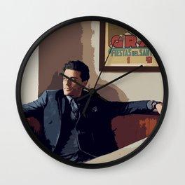 Oscar Isaac 6 Wall Clock