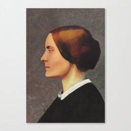 Susan B. Anthony, Suffragette Canvas Print