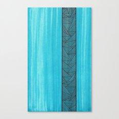Light Blue Background Canvas Print
