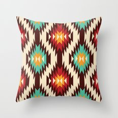 American native Pattern No. 19 Throw Pillow