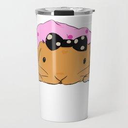 Cute Daddy Rabbit Travel Mug