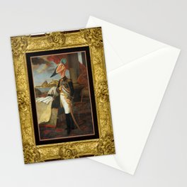 Framed Tyrant Tupuxuara Stationery Cards