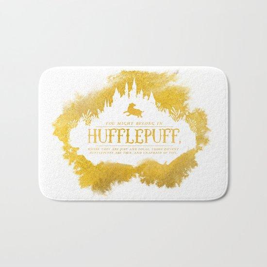 Hufflepuff Bath Mat