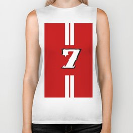 sacred jersey number Biker Tank